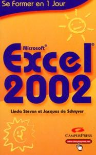 Linda Steven et Jacques de Schryver - Excel 2002.