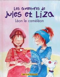 Linda Van Mieghem - Les aventures de Jules et Liza Tome 2 : Léon le caméléon.