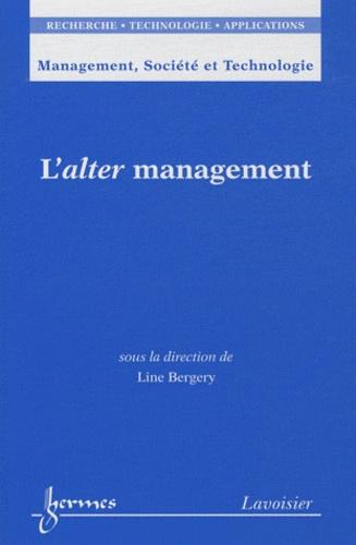 Line Bergery - L'alter management.