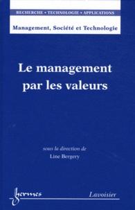 Line Bergery - Le management par les valeurs.
