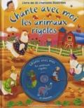 Line Boulanger et Isabelle Charbonneau - Les animaux rigolos. 1 CD audio