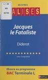Line Carpentier et Henri Mitterand - Jacques le Fataliste - Diderot.
