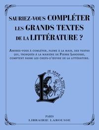 Sauriez-vous compléter les grands textes de la littérature ?.pdf