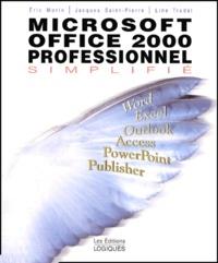 Deedr.fr Microsoft Office 2000 professionnel simplifié Image