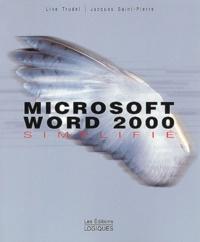 Histoiresdenlire.be Microsoft Word 2000 simplifié Image