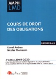 Lionel Andreu et Nicolas Thomassin - Cours de droit des obligations.