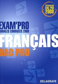 Lionel Audion - Français Bac Pro - Annales corrigées.