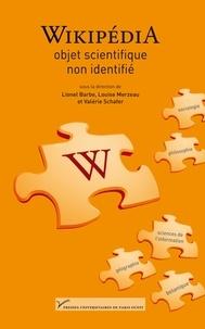Lionel Barbe et Louise Merzeau - Wikipédia, objet scientifique non identifié.