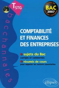 Lionel Bardou - Comptabilité et finances des entreprises Tle STG.