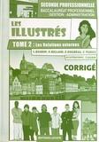 Lionel Baudin et Nathalie Billand - Les illustrés 2e Bac Pro Gestion-Administration - Corrigé Tome 2, Les relations externes.