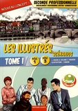 Lionel Baudin et Nathalie Billand - Les illustrés en scénarios 2de Bac pro Gestion-Administration Pôles 1 et 3 - Tome 1.