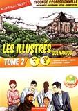 Lionel Baudin et Nathalie Billand - Les illustrés en scénarios 2de Bac Pro Gestion-Administration Pôles 1 et 3 - Tome 2.