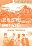 Lionel Baudin et Nathalie Billand - Les illustrés en scénarios 2de Bac Pro Gestion-Administration Pôles 1 et 3 - Livre du professeur Tome 2.