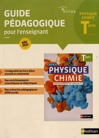 Lionel Bernard et Nicolas Coppens - Physique-Chimie Tle - Guide pédagogique pour l'enseignant.