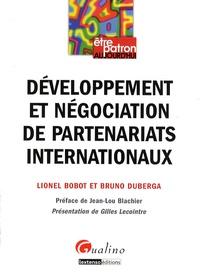 Développement et négociation de partenariats internationaux - Lionel Bobot |