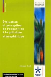 Lionel Charles et Pascale Ebner - Evaluation et perception de l'exposition à la pollution atmosphérique.