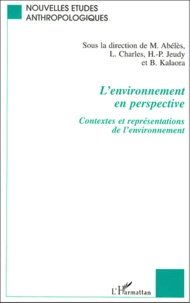Deedr.fr L'environnement en perspective. Contextes et représentations de l'environnement Image