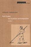 Lionel Destremau - Poésies : variations - Tome 3, Huit études sur la poésie contemporaine.