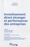 Lionel Fontagné et Farid Toubal - Investissement direct étranger et performances des entreprises.