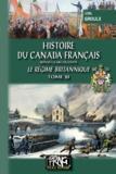 Lionel Groulx - Histoire du Canada français depuis la découverte - Tome 3, Le régime britannique.