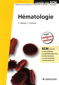 Lionel Karlin et Tereza Coman - Hématologie.