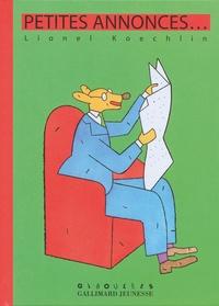 Lionel Koechlin - Petites annonces....
