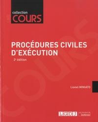 Lionel Miniato - Procédures civiles d'exécution.