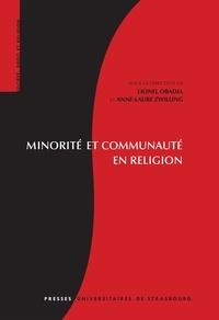 Lionel Obadia et Anne-Laure Zwilling - Minorité et communauté en religion.