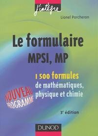 Le formulaire MPSI, MP - 1500 formules de mathématiques, physique et chimie.pdf
