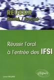 Lionel Regard - Réussir l'oral à l'entrée des IFSI.