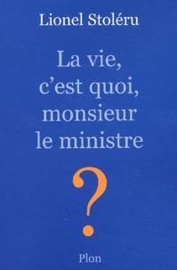 Cjtaboo.be La vie, c'est quoi, monsieur le ministre ? Image