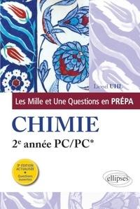 Téléchargez Google Books au format pdf Les 1001 questions de la chimie en prépa  - 2e année PC/PC* par Lionel Uhl 9782340035034
