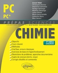 Lionel Vidal - Chimie PC/PC*.