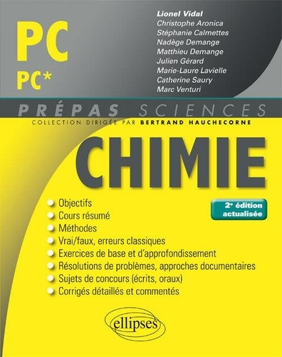 Lionel Vidal - Chimie PC/PC*.