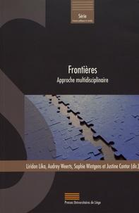 Liridon Lika et Audrey Weerts - Frontières - Approche multidisciplinaire.
