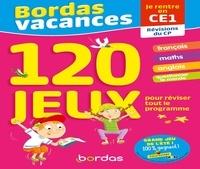 Lisa Auline et Claire Laurens - Bordas Vacances - Je rentre en CE1 - 120 jeux pour réviser tout le programme.