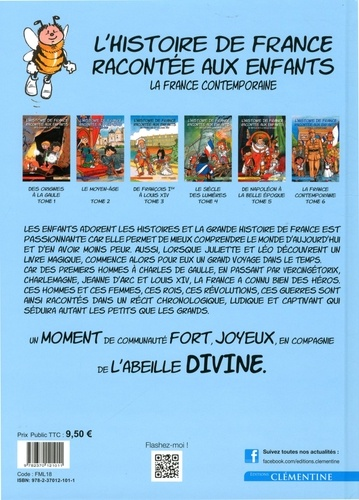 L'histoire de France racontée aux enfants Tome 6 La France contemporaine