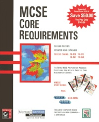 MCSE CORE REQUIREMENTS : NETWORKING ESSENTIALS. NT SERVER 4. NT SERVER 4 IN THE ENTERPRISE. NT WORKSTATION 4. With CD-Roms, 2nd edition - Lisa Donald | Showmesound.org