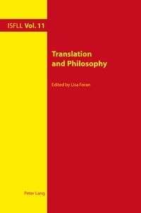Lisa Foran - Translation and Philosophy.