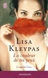 Lisa Kleypas - La saga des Travis Tome 4 : La couleur de tes yeux.
