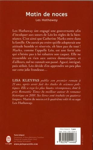 Les Hathaway Tome 4 Matin de noces
