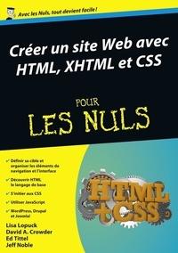 Lisa Lopuck et David Crowder - Créer un site web avec HTML, XHTML et CSS pour les Nuls.