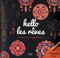 Lisa Magano - Cartes à gratter hello les rêves - 6 cartes à gratter et 1 bâtonnet inclus.