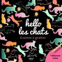 Lisa Magano - Hello les chats - 6 cartes à gratter.