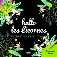 Livres à télécharger sur ipod touch Hello les licornes  - 6 cartes à gratter - Avec 1 bâtonnet 9782412049112 PDB
