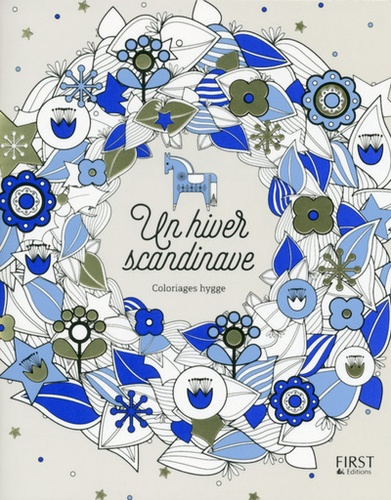 Lisa Magano - Un hiver scandinave - Coloriages hygge.