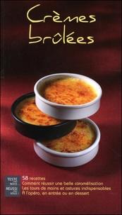 Lisa Mazières - Crèmes brûlées - 58 recettes.