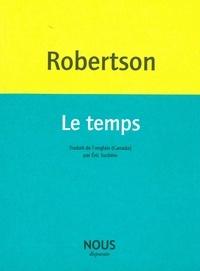 Lisa Robertson - Le temps.
