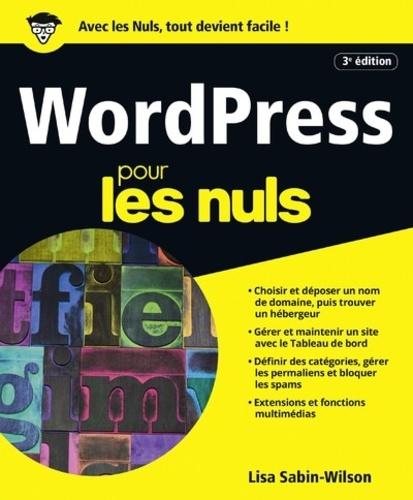 WordPress pour les nuls 3e édition