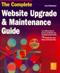 THE COMPLETE WEBSITE UPGRADE & MAINTENANCE GUIDE. With CD-Rom.pdf
